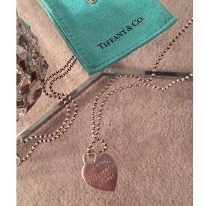 Tiffany & Co. | Heart Dogtag Pendant Necklace